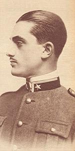 Luchino Visconti allievo a Pinerolo 1927