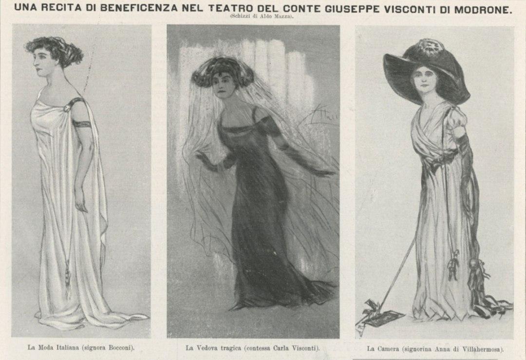 Teatro del Conte Giuseppe Visconti di Modrone 1910