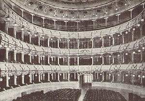 Teatro Manzoni, Milano primi '900
