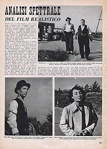 Analisi spettrale del film realistico, Cinema 25 luglio 1942