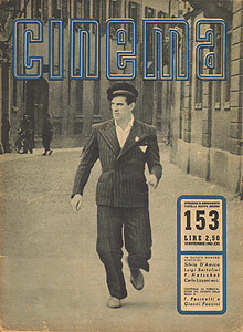 Massimo Girotti in Ossessione, Cinema novembre 1942