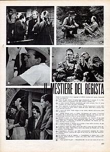 Il Mestiere del Regista, Cinema 10 agosto 1942