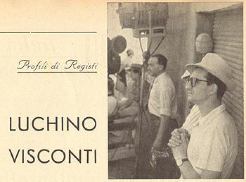 Profili di registi: Luchino Visconti
