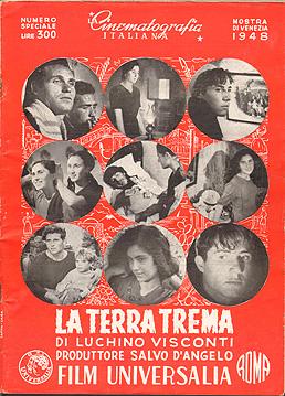 La terra trema. La Cinematografia Italiana 1948