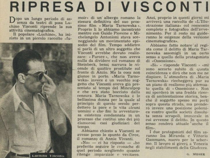 Ripresa di Visconti, marzo 1946