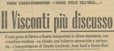 Il Visconti più discusso