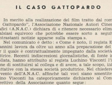 Il Caso Gattopardo