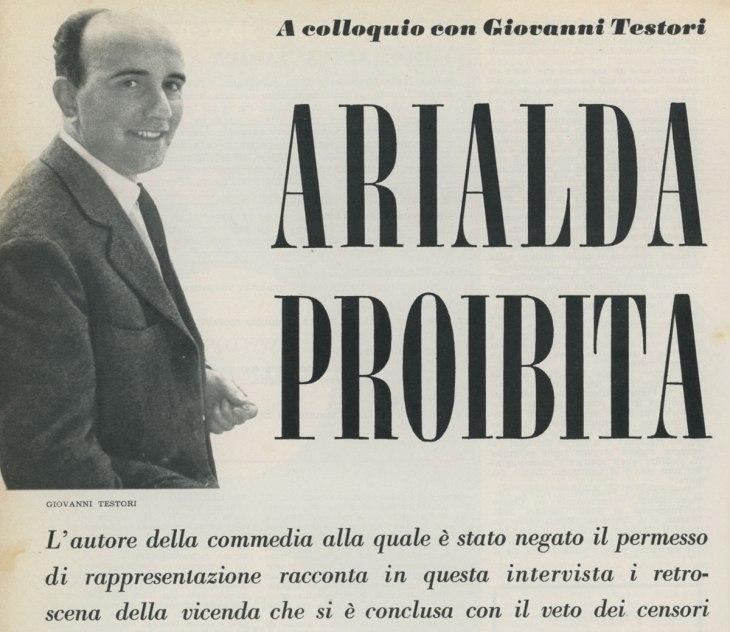 Arialda proibita