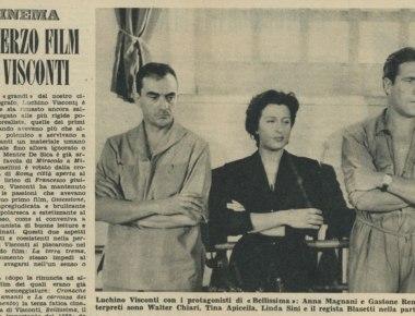 Bellissima il terzo film di Visconti