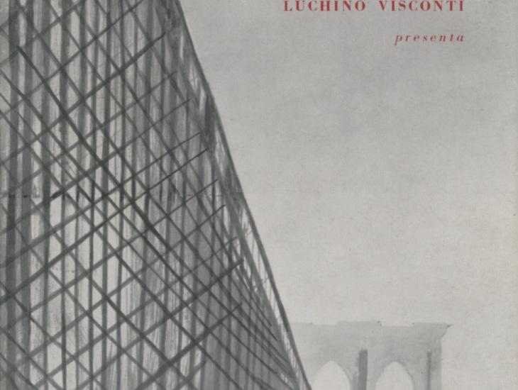 Luchino Visconti presenta Uno sguardo dal ponte di Arthur Miller
