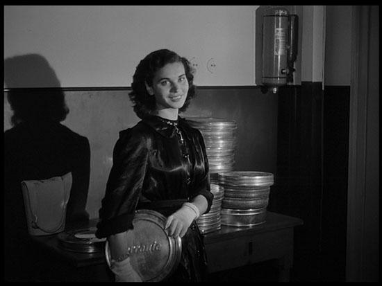 Liliana Mancini, la montatrice Iris in Bellissima di Luchino Visconti