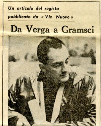 Da Verga a Gramsci Luchino Visconti 1960