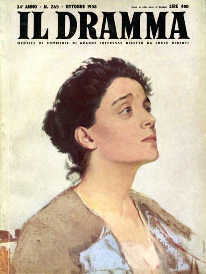 Eleonora Duse Il Dramma 1958