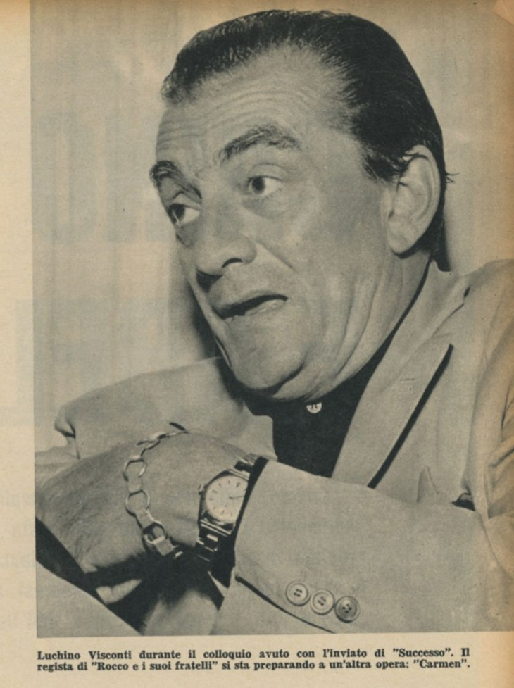 Luchino Visconti si racconta
