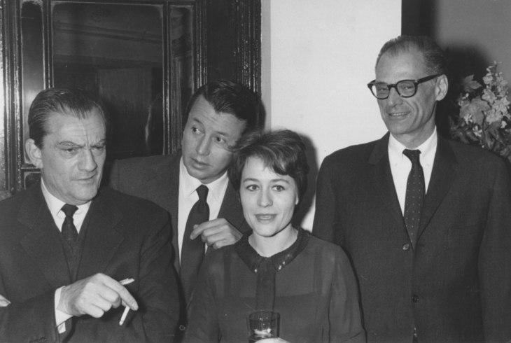 Luchino Visconti Michel Auclair Annie Girardot Arthur Miller