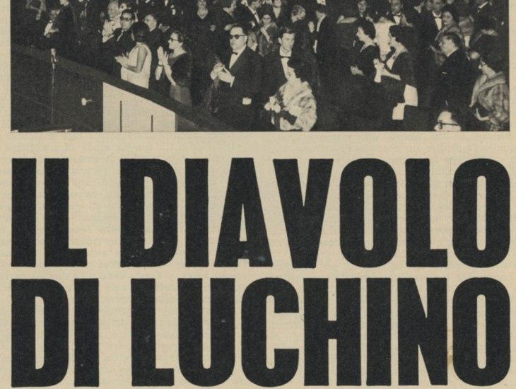 Il Diavolo in giardino di Luchino Visconti