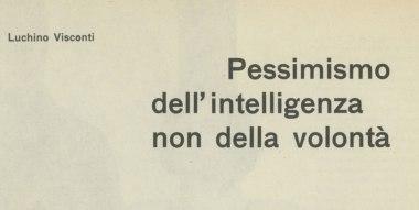 Scritti di Luchino Visconti