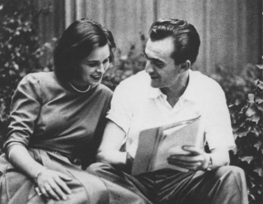 Lucia Bosè e Luchino Visconti