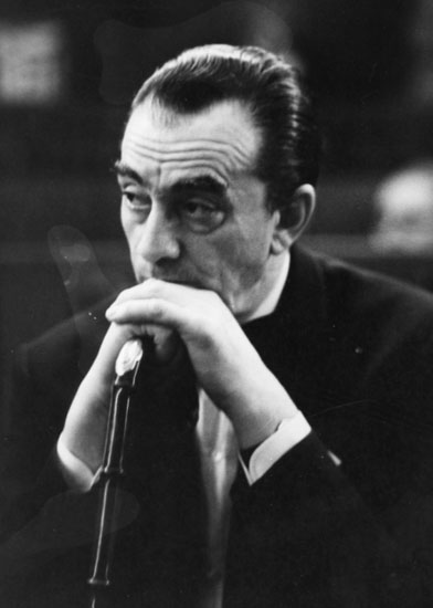 Luchino Visconti a Parigi 1961