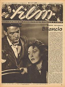 Massimo Girotti e Clara Calamai in Ossessione, Film settembre 1942