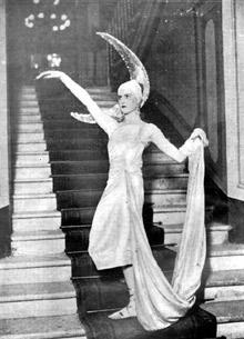 Nicoletta Arrivabene (Niki) nel 1929