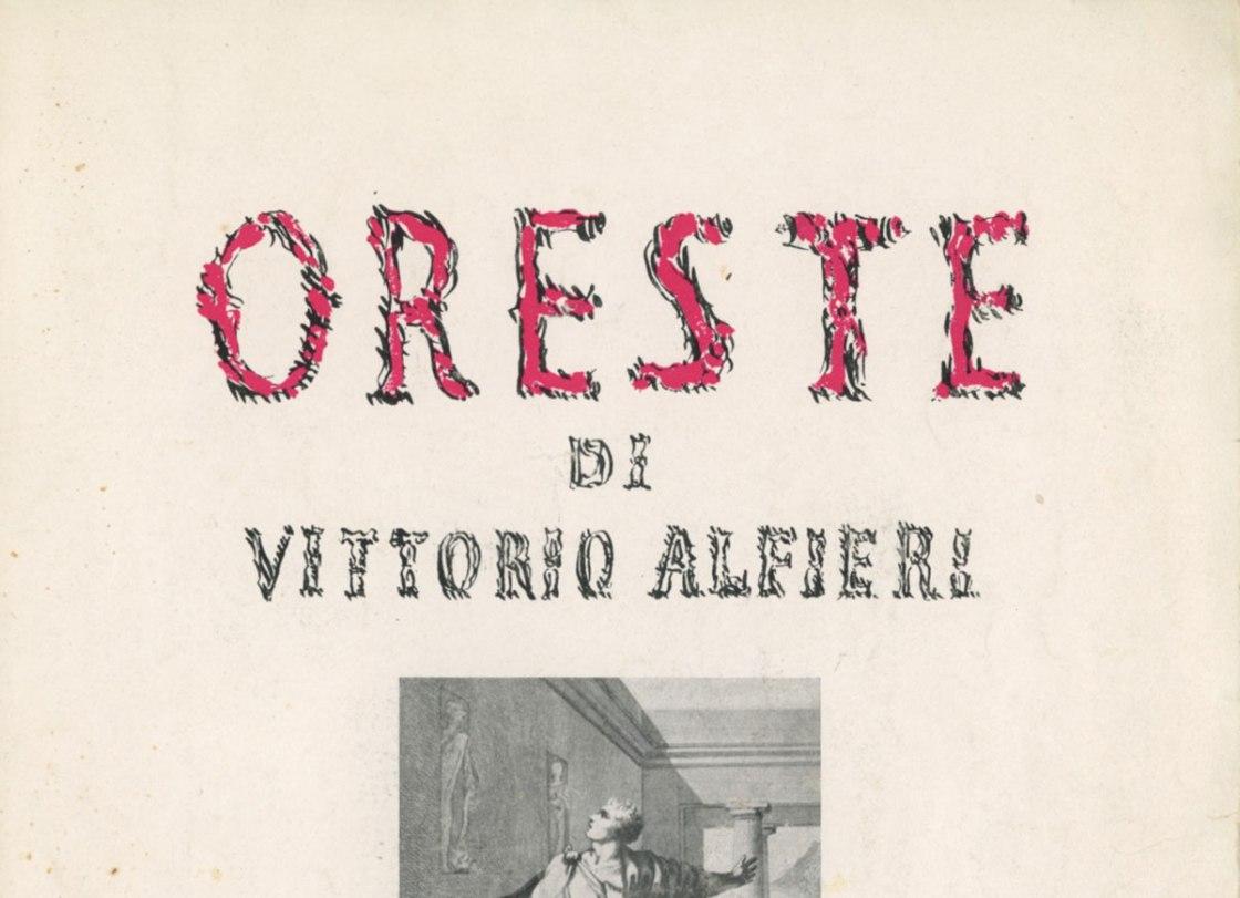 Oreste di Vittorio Alfieri