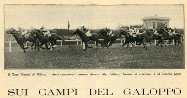 Sanzio, vincitore al Gran Premio di Milano 1932