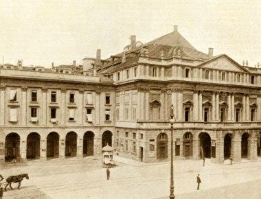 Teatro alla Scala, Milano primi '900