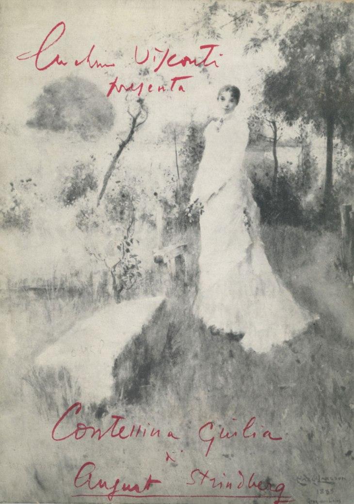 Luchino Visconti presenta Contessina Giulia di August Strindberg