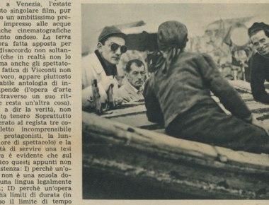 La terra trema di Luchino Visconti