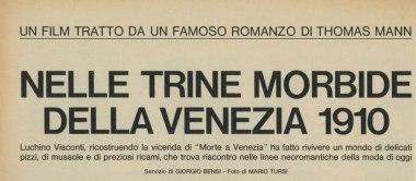 Nelle trine morbide della Venezia 1910