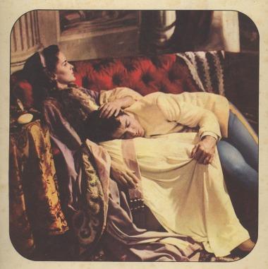 Alida Valli e Farley Granger nel film Senso