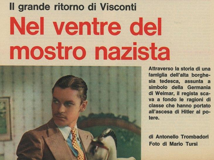 La caduta degli dei di Luchino Visconti