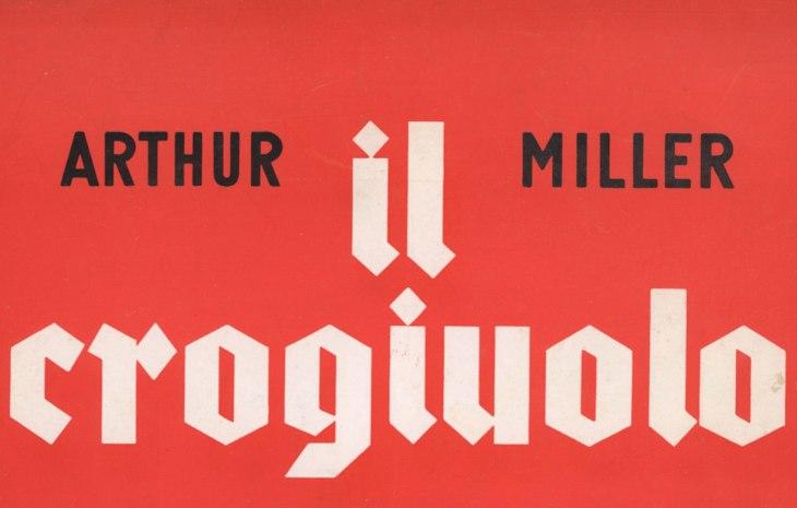 Il crogiolo di Arthur Miller regia di Luchino Visconti