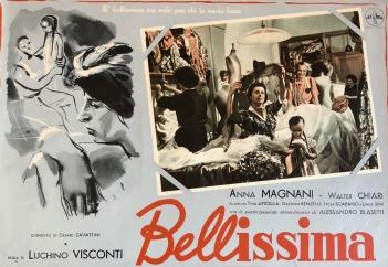 Bellissima soggetto di Cesare Zavattini regia di Luchino Visconti