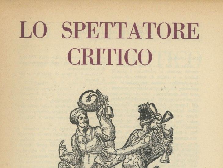 Lo Spettatore Critico