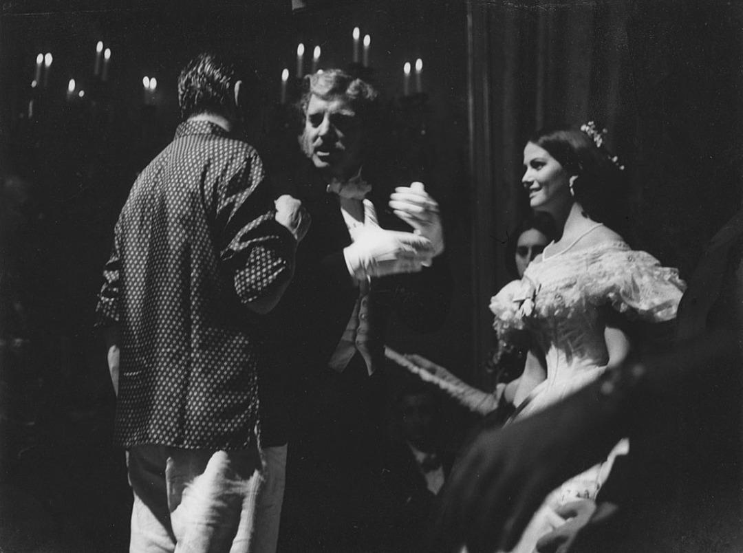 Luchino Visconti Burt Lancaster Claudia Cardinale
