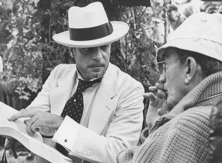 Giancarlo Gianni e Luchino Visconti