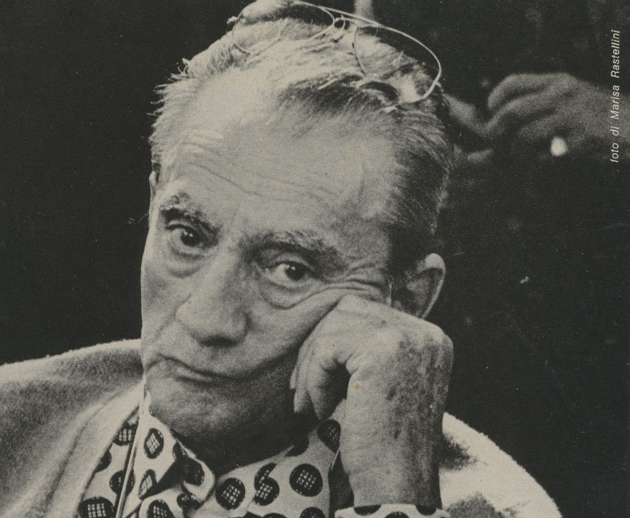 Luchino Visconti Lucca 1975