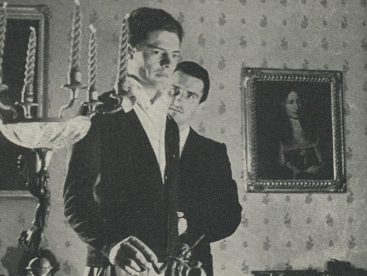 Marcello Mastroianni e Carlo Principini in Asmodeo di Françoise Mauriac