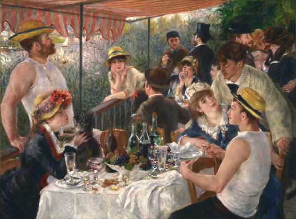 Déjeuner à Bouvigal