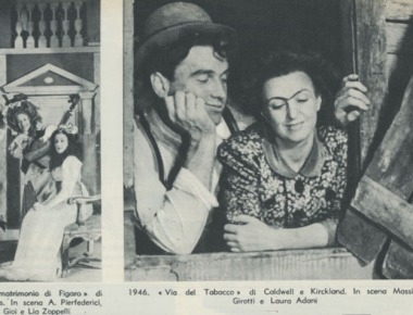 Luchino Visconti regista principe del teatro italiano
