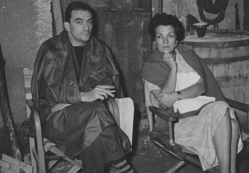 Luchino Visconti e Suso Cecchi D'Amico
