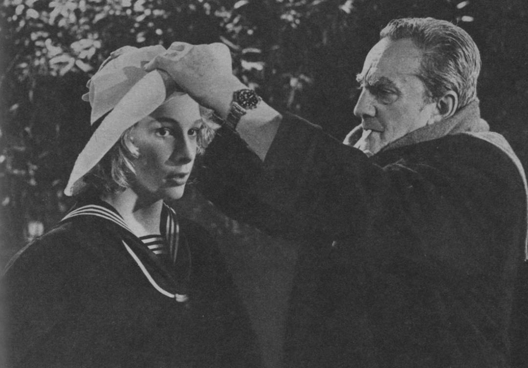 Björn Andrésen e Luchino Visconti